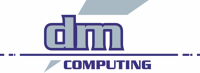 dm COMPUTING Logo